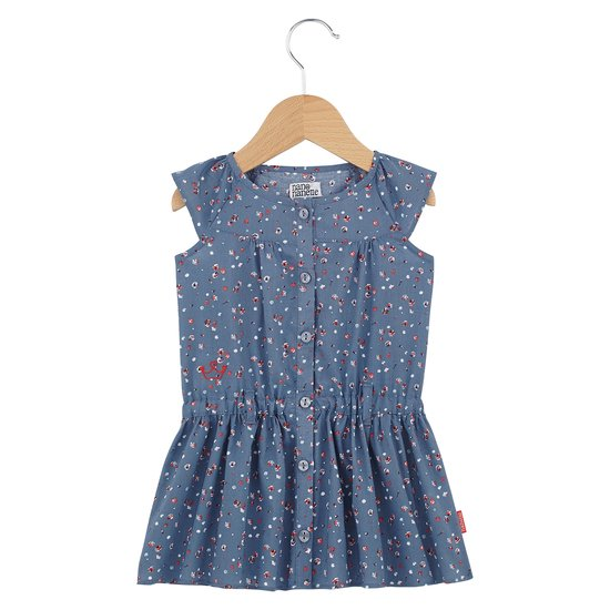 Robe boutonnée collection English Summer Camp Fille Imprimé Victoria  de Nano & nanette