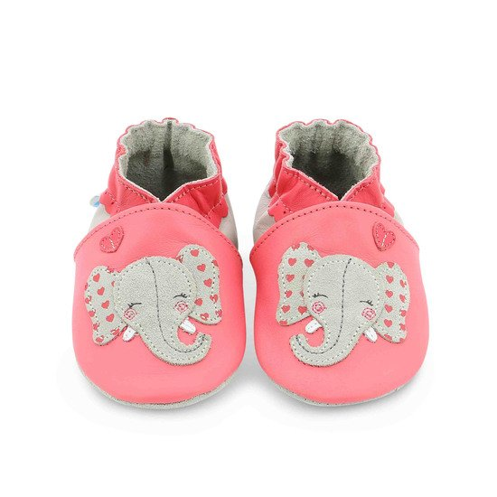 Chaussons girly elephant Rose  de Robeez