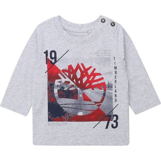 T-shirt collection Timberland Hiver 2019 Gris  de Timberland