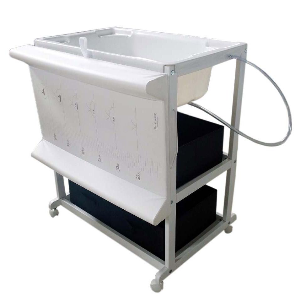 Meuble De Bain Bébé étagères Fixes Blanc De Quax Tables à Langer