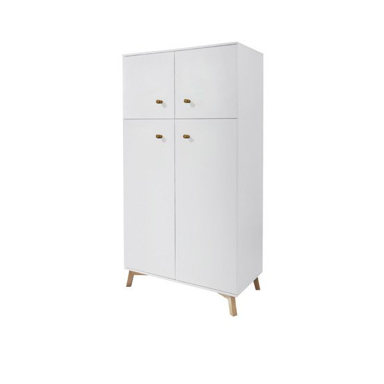 Fjord armoire 2 portes Blanc  de TWF (The Wood Factory)