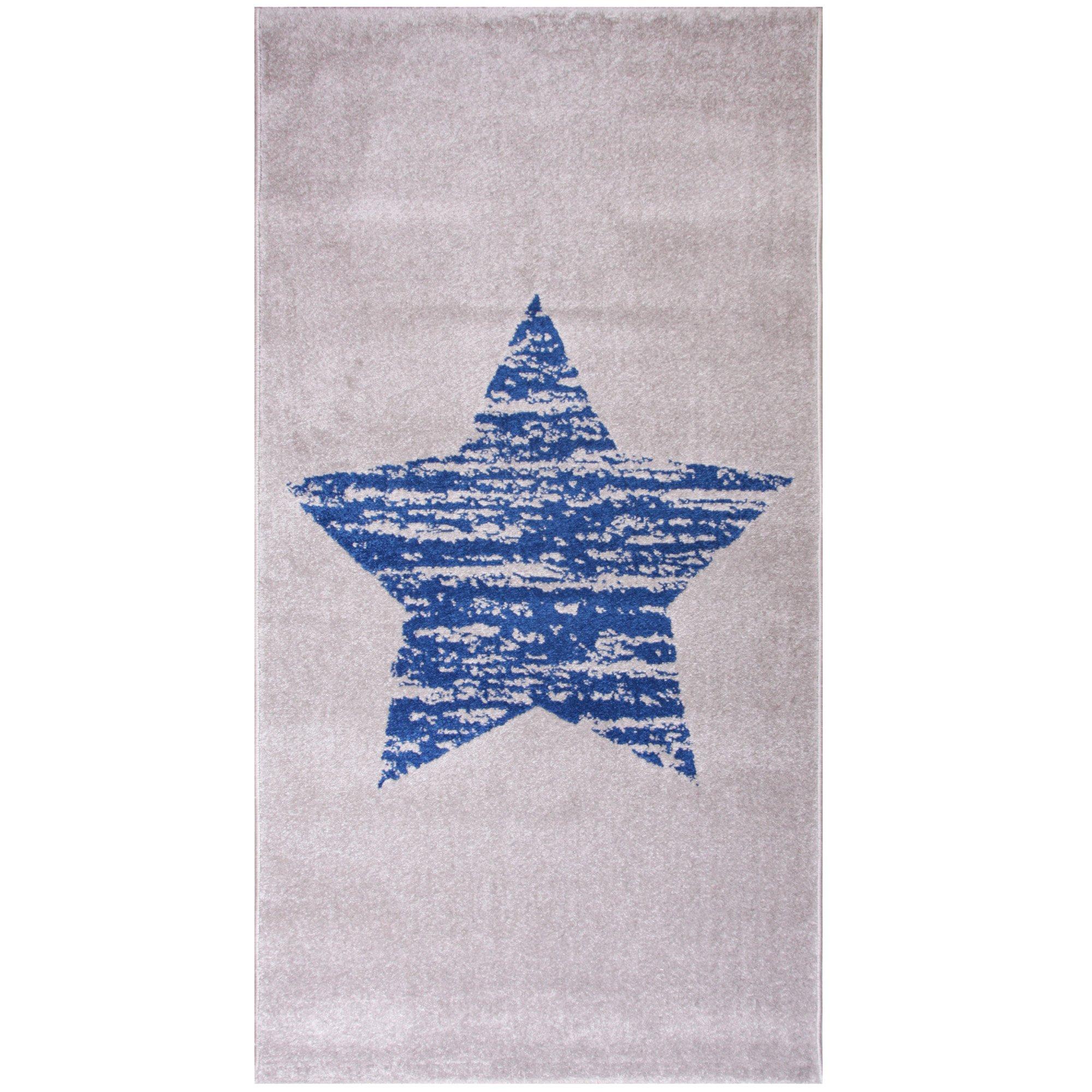 Tapis Lucero 80x150 cm Bleu de Nattiot, Tapis : Aubert