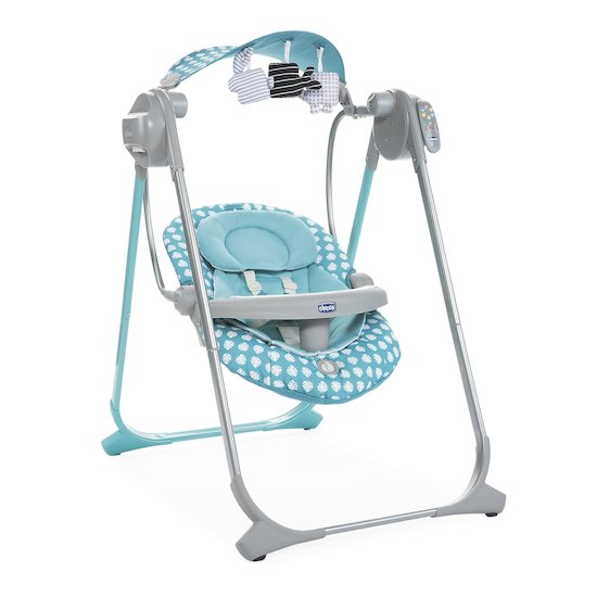 Balancelle Polly Swing Up Turquoise  de Chicco