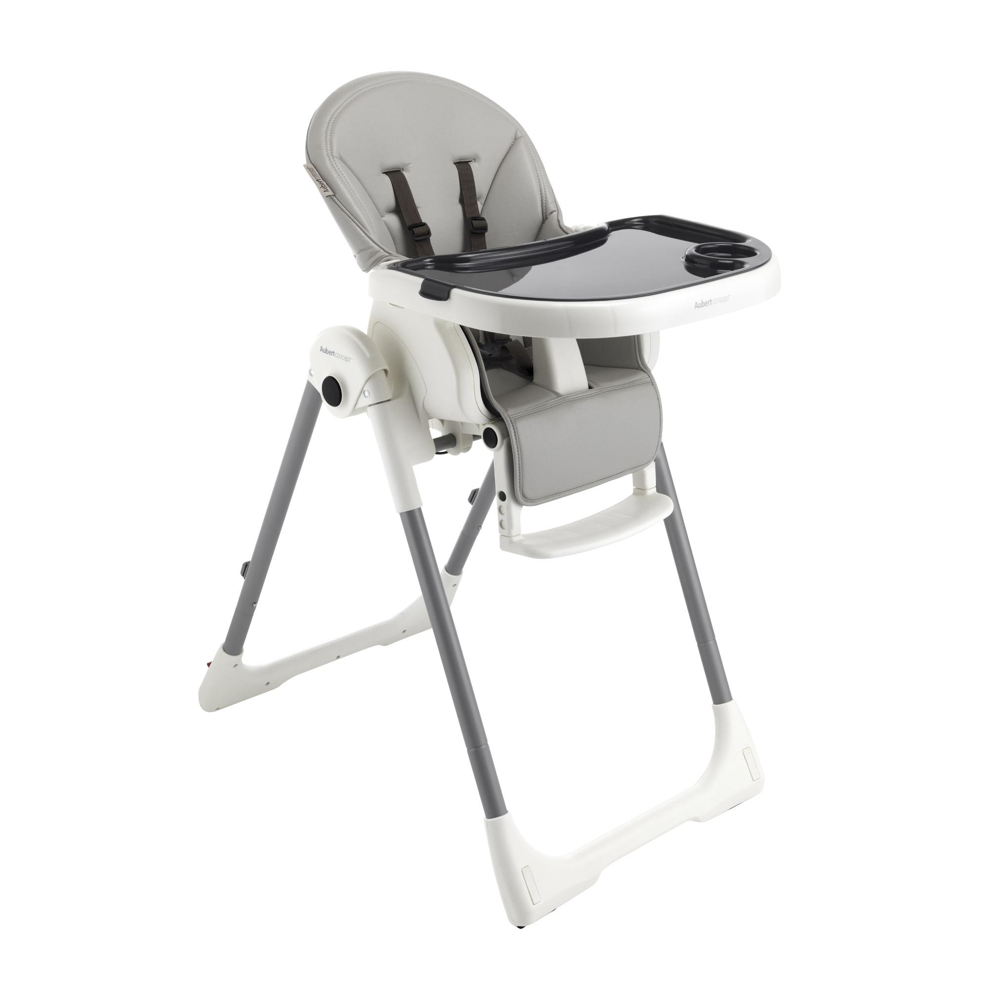 Chaise Design GRIS De Aubert Concept Chaises Hautes Rglables