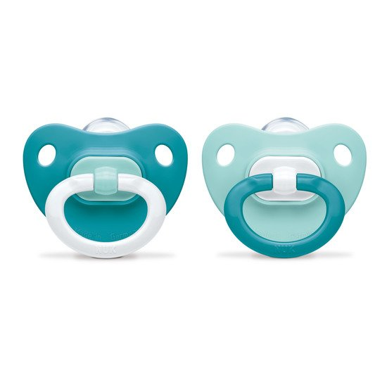 Lot de 2 sucettes Fashion Bleu T1 de Nuk