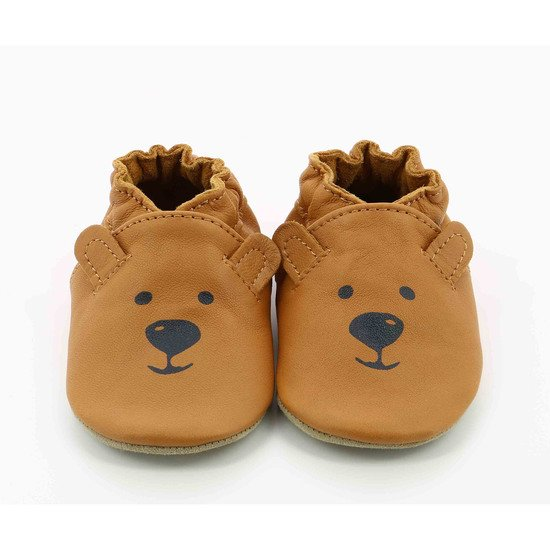 Chaussons sweety bear Camel  de Robeez