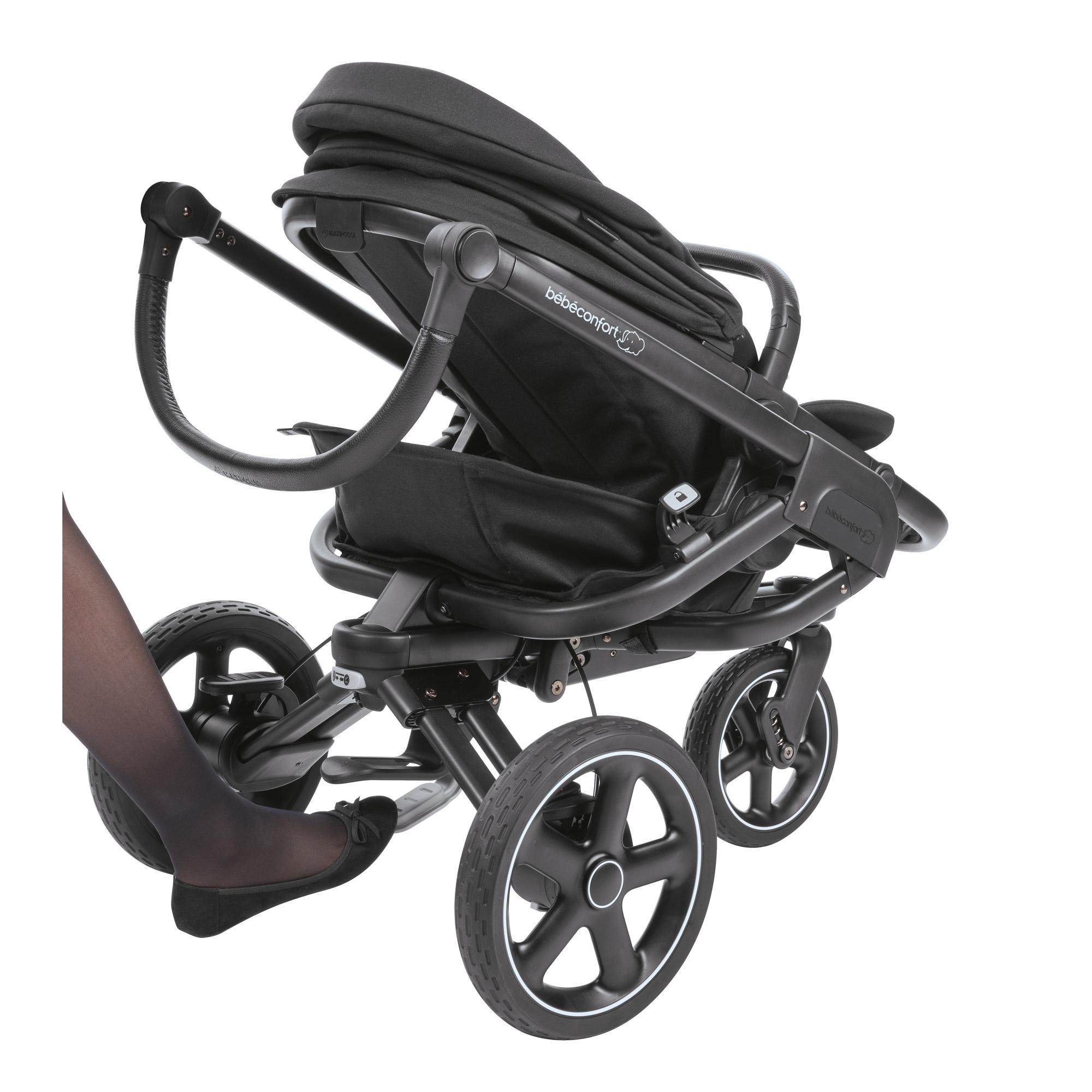 nova 3 roues sparkling grey de b b confort poussettes. Black Bedroom Furniture Sets. Home Design Ideas