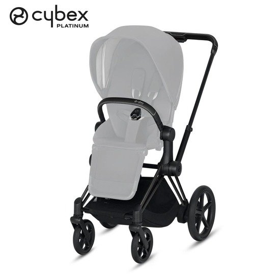 Châssis e-Priam  Matt Black  de Cybex