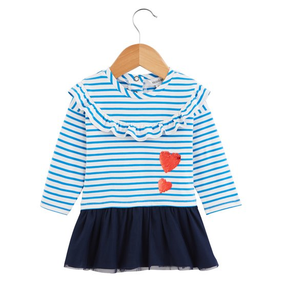 Robe marinière Fille Collection Marèse Pop Cargo Rayure Sailor  de Marèse