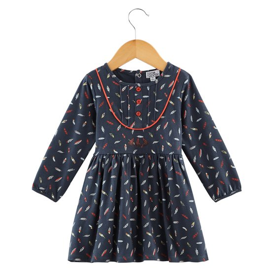Robe imprimé collection Native American Girl Plume  de Nano & nanette