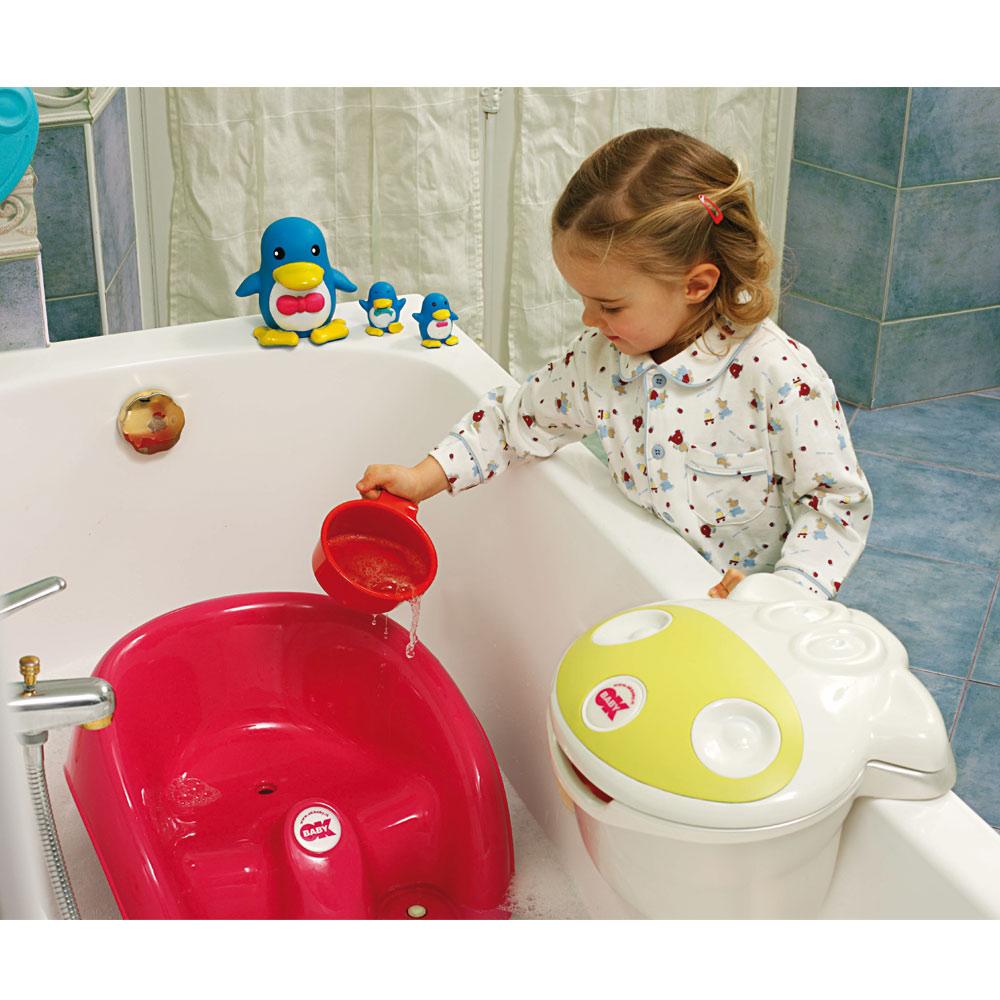 Boite de bain Muggy Vert/Blanc  de OK Baby