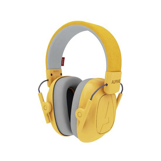 Casque anti-bruit enfant Muffy Yellow  de Alpine