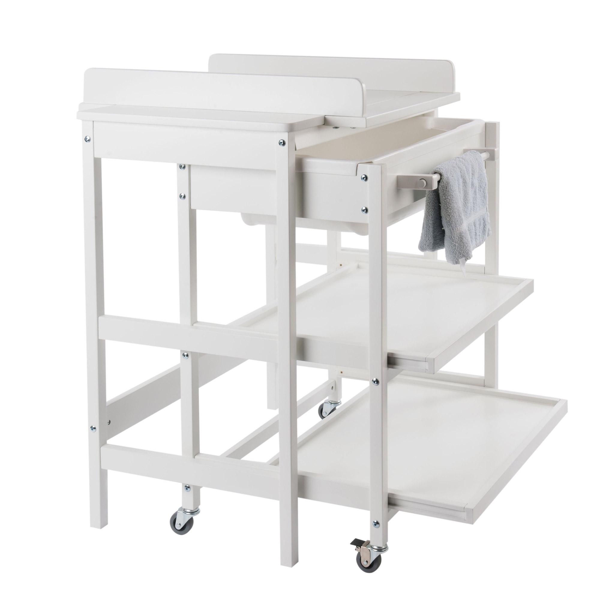Meuble langer smart comfort griffin grey de quax meuble for Meuble quax