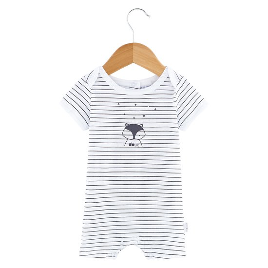 Combicourt rayé collection Little Fox