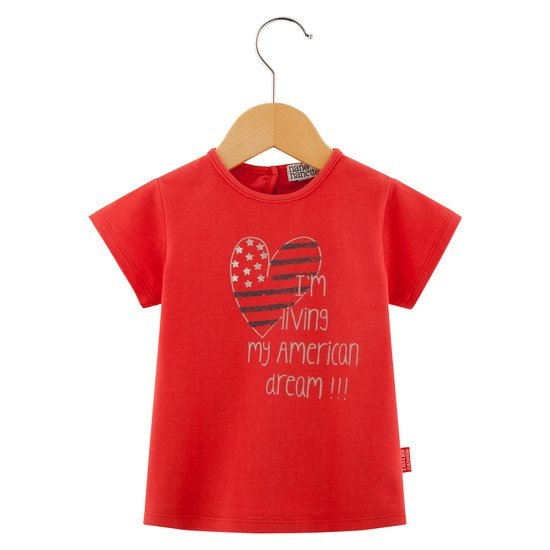 T-shirt collection Holidays in the City Fille Rouge  de Nano & nanette