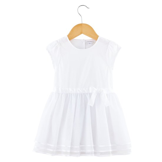 Robe nœud collection Cérémonie Blanc  de P'tit bisou