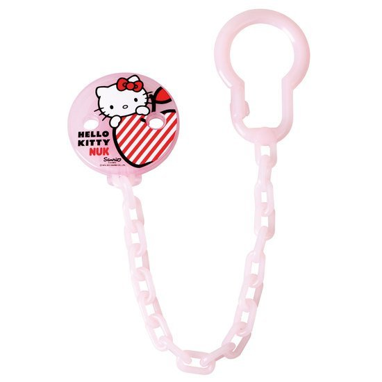 Attache-sucette Hello Kitty
