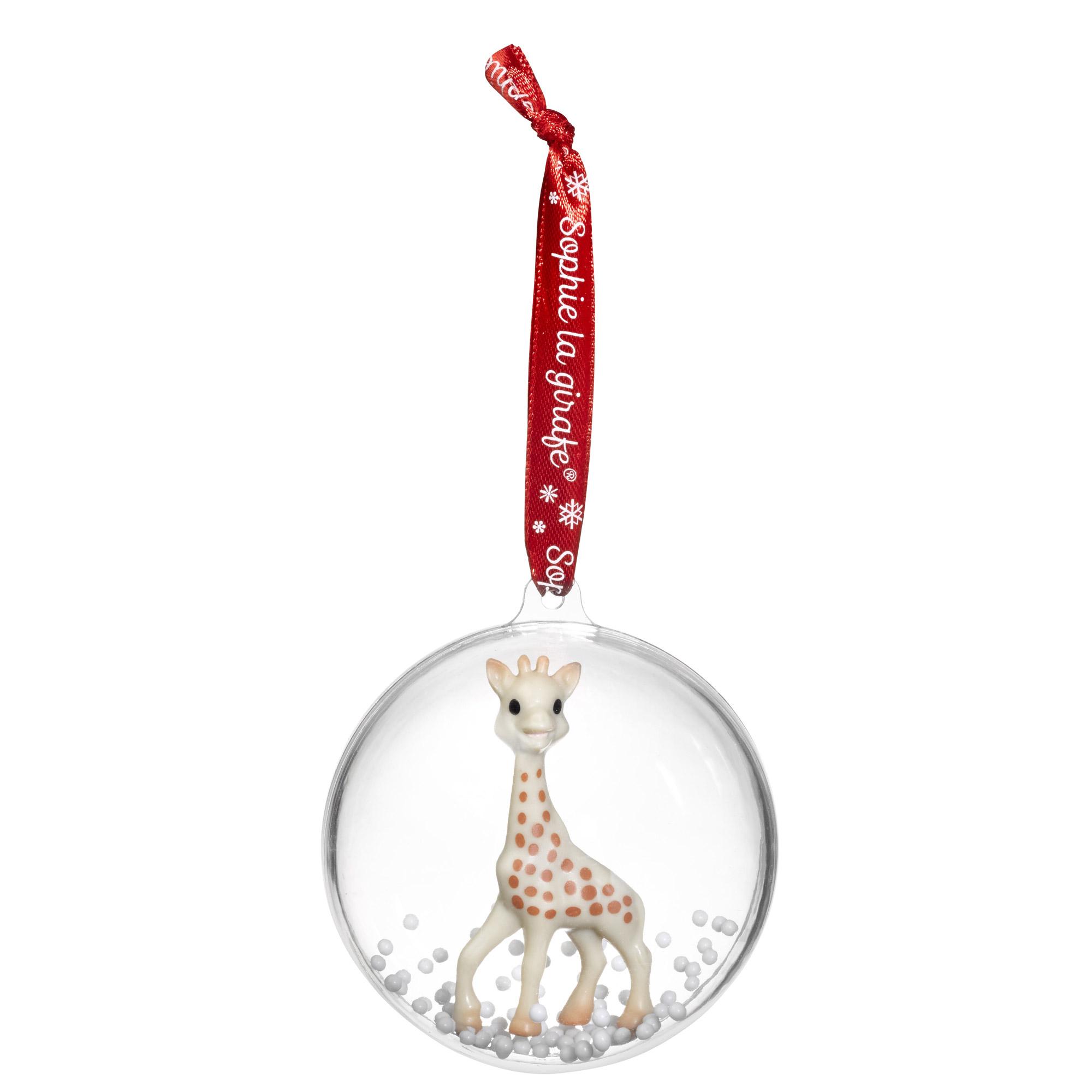 Boule de Noël Sophie Sophie la Girafe de Vulli, Accessoires déco