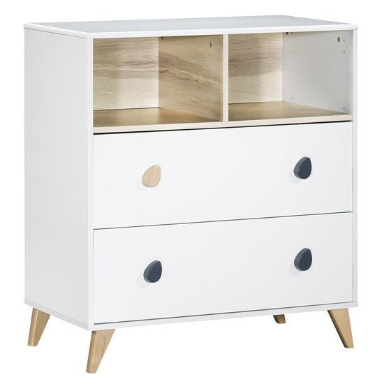 Oslo commode 2 tiroirs   de Sauthon Baby's Sweet Home