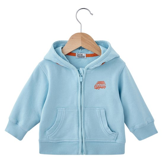 Cardigan capuche collection Summer Kids Bleu  de Nano & nanette