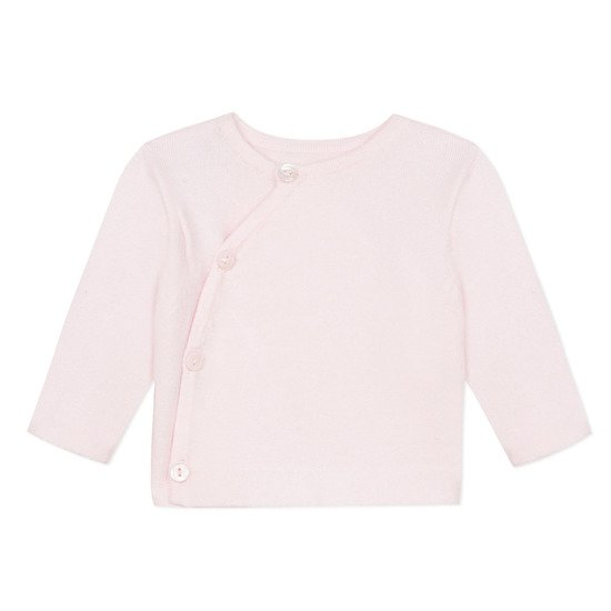 Absorba Hiver 2019 cardigan tricot  Rose  de Absorba