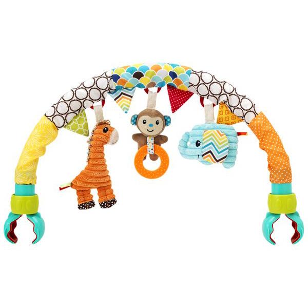 Arche de poussette universelle Multicolore  de Infantino