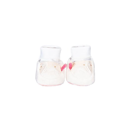 Baby Swan Chaussons Cygne 0-6 mois de Sauthon Baby Déco