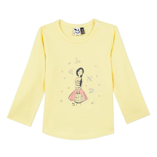 T-shirt fille collection 3Pommes Hiver 2019