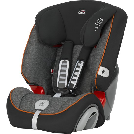 Evolva 123 Plus Black Marble  de Britax