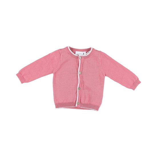 Cardigan tricot collection Cocon Fille Rose  de Noukies