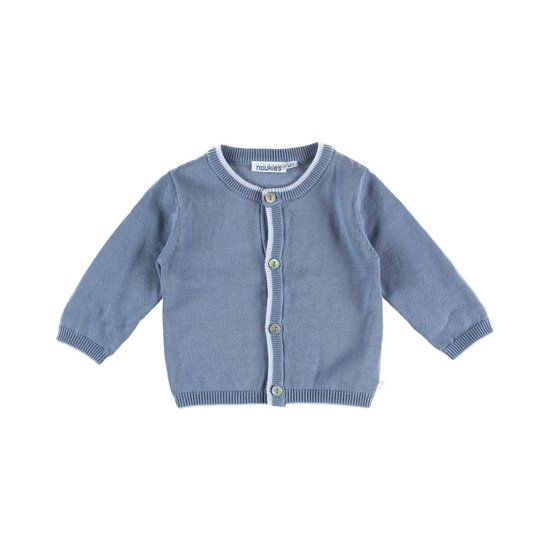 Cardigan tricot collection Cocon Bleu  de Noukies