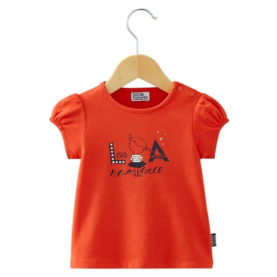 T-shirt collection In LA Fille Rouge  de Nano & nanette