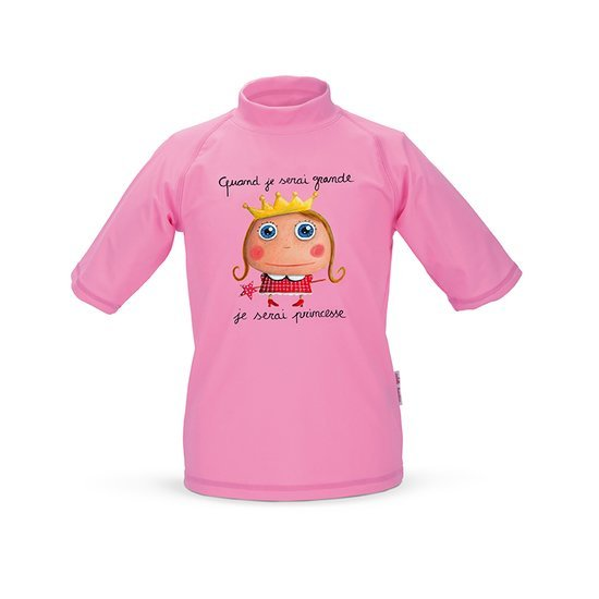 T-shirt anti-UV Princesse  de Label Tour