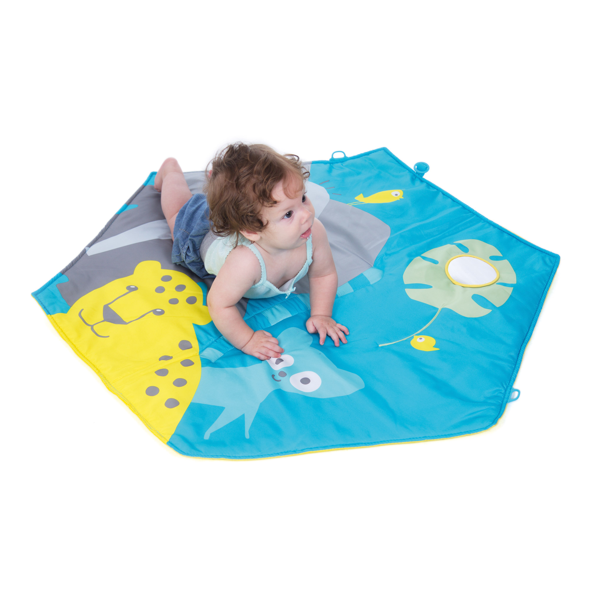 Pili playmat tapis de jeu Jungle  de Babytolove