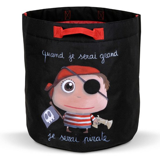 Sac à jouets Pirate  de Label Tour