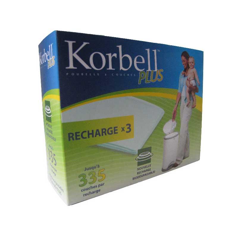 Recharge pour Poubelle Korbell Plus x3   de Korbell