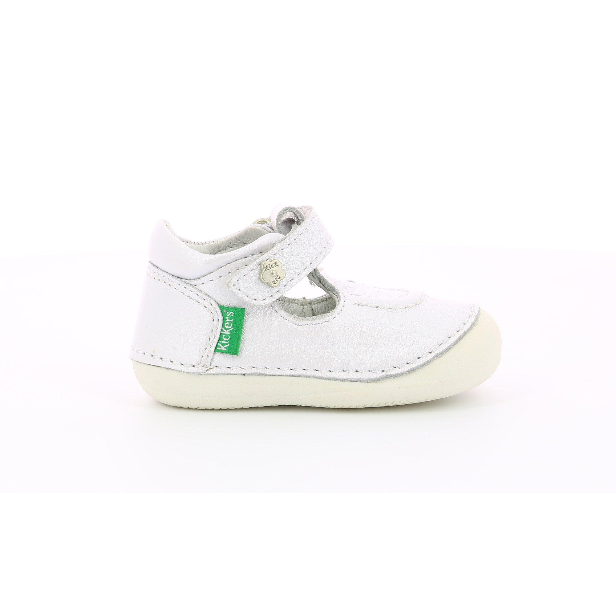 Chaussures Salomé Blanc métallisé  de Kickers