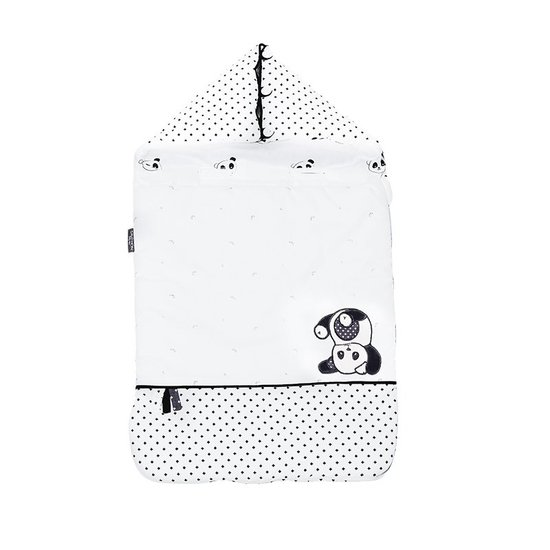 Chao Chao Nid d'ange nomade Panda 0-3 mois de Sauthon Baby Déco