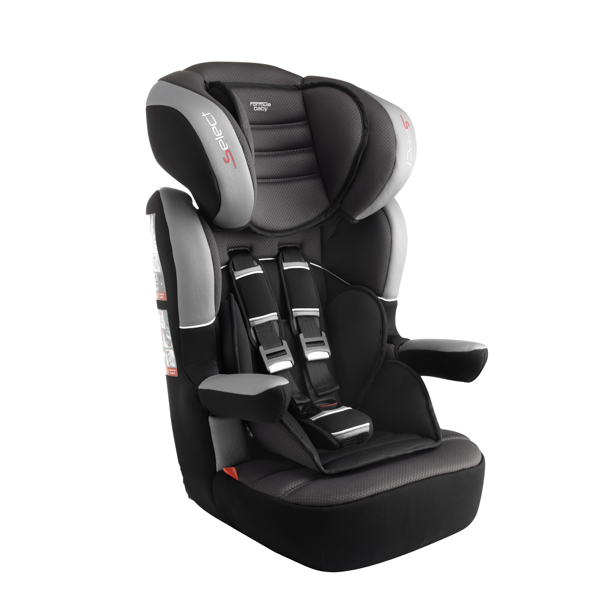 Groupe 1 2 3 select black de formula baby si ge auto - Siege auto inclinable groupe 1 2 3 ...