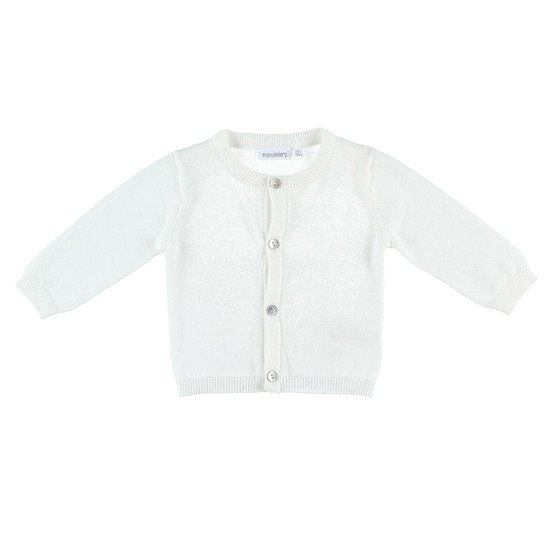 Cardigan tricot collection Cocon Blanc  de Noukies