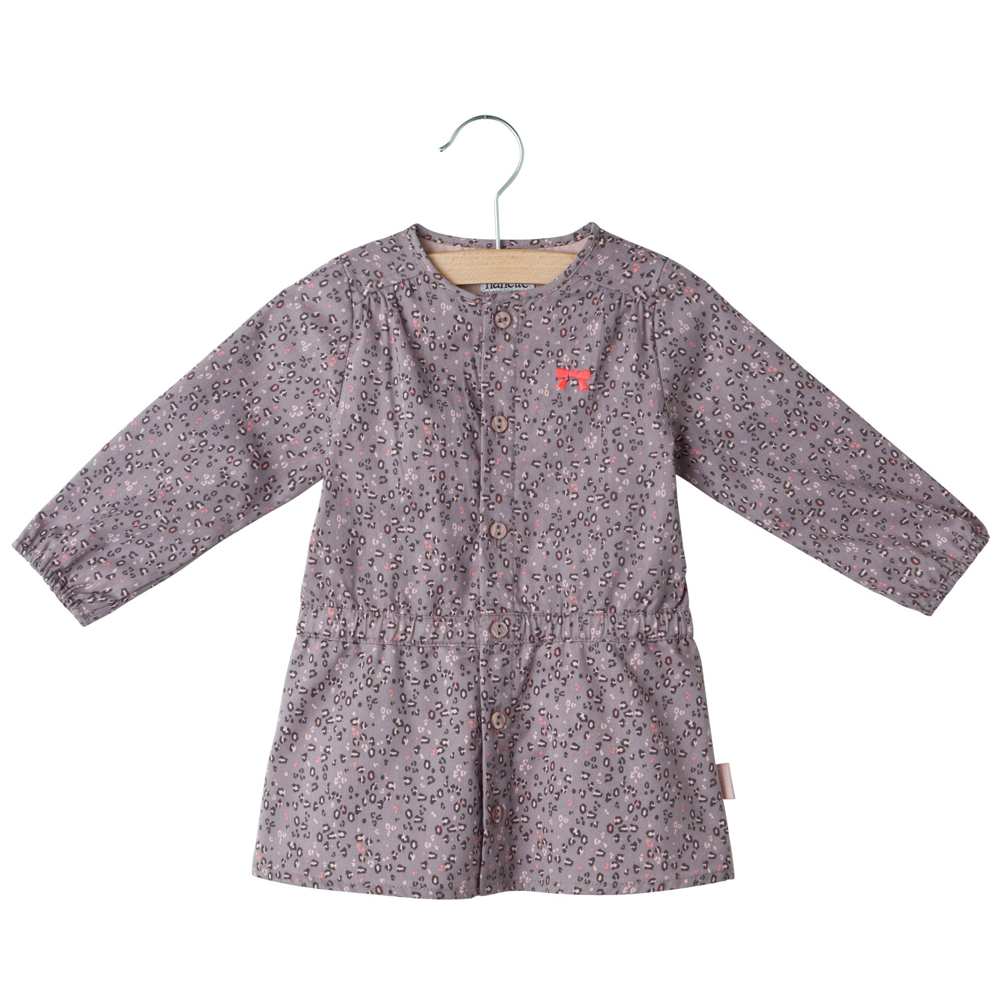 Robe manches longues collection Preppy Grey