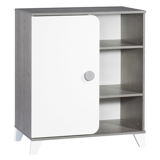 Alix commode 1 porte 3 niches   de Sauthon Baby's Sweet Home