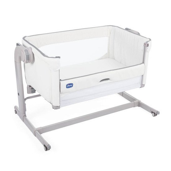 Berceau Chicco Next 2 Me Magic White Snow  de Chicco