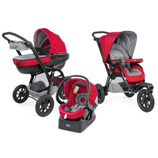 Trio Activ3 Top Red berry  de Chicco