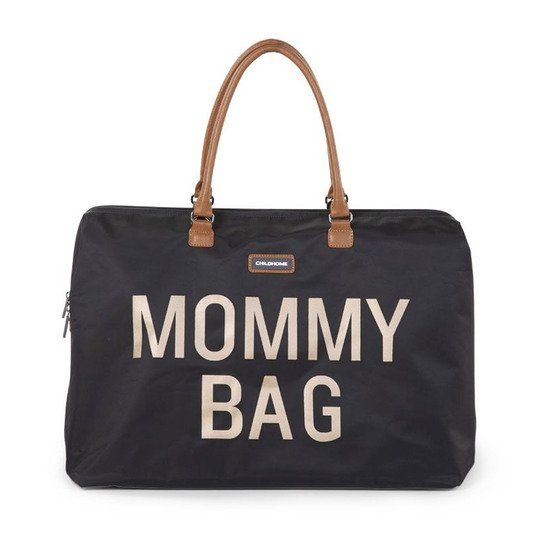 Sac à langer Mommy Bag Black Gold   de Childhome