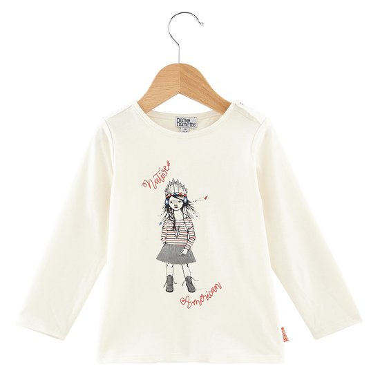 T-shirt indienne collection Native American Girl