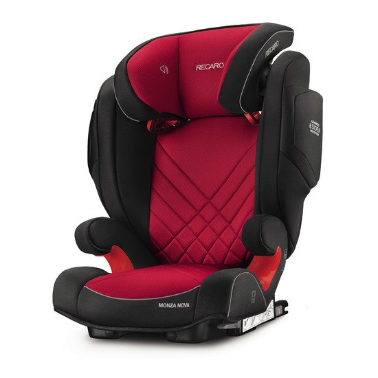 Monza Nova 2 Seatfix Racing Red  de Recaro