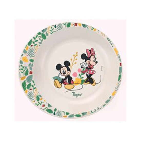 Assiette creuse Mickey & Minnie  de Tigex