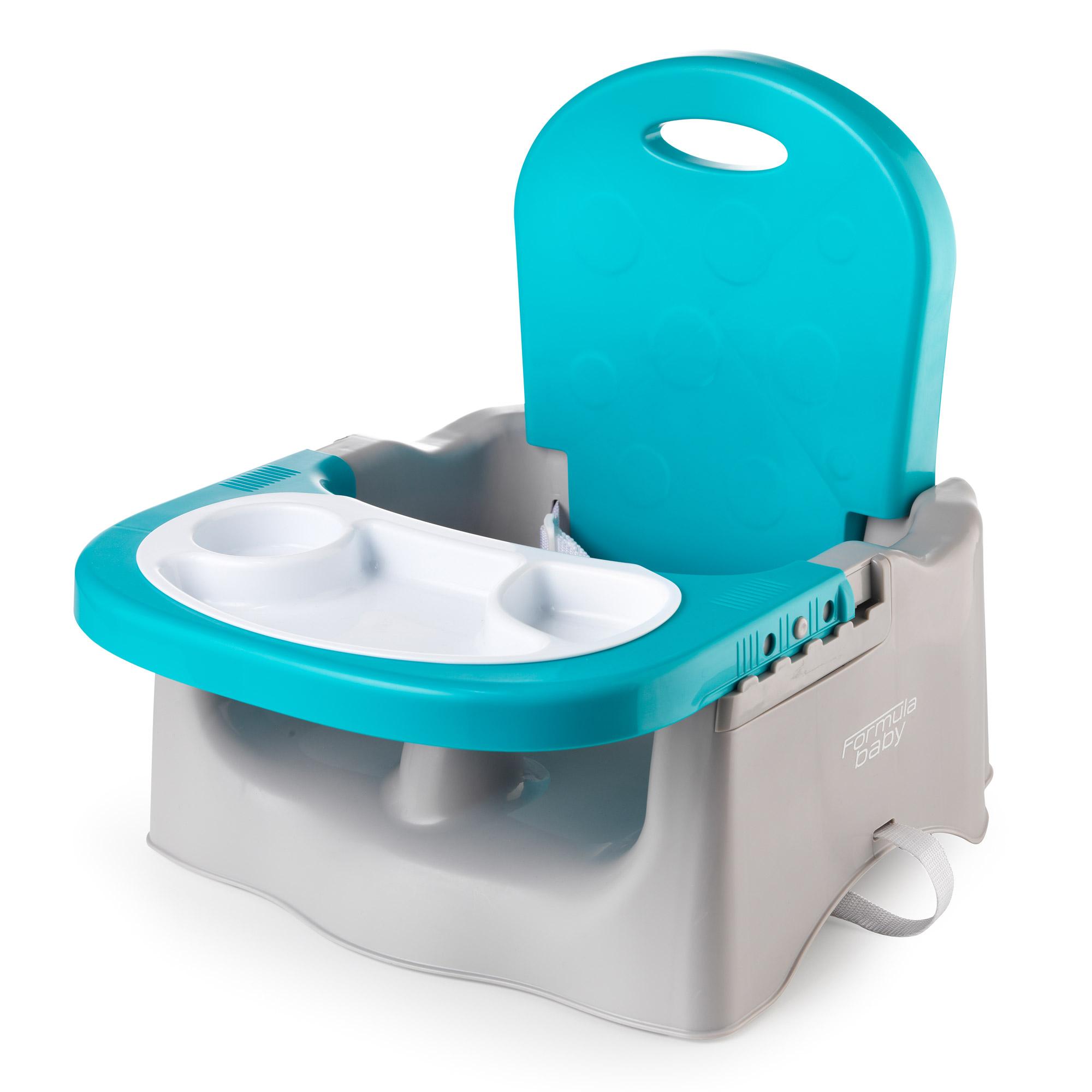 Rehausseur de chaise Gris / Bleu de Formula Baby ...