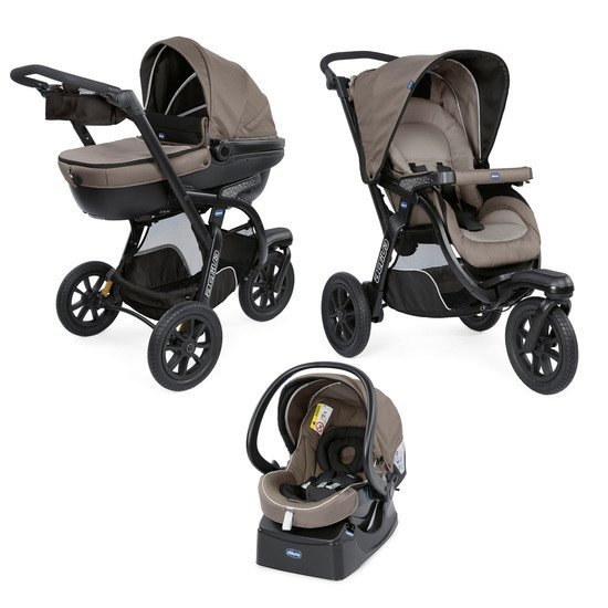 Trio Activ3 Top Dark Beige  de Chicco
